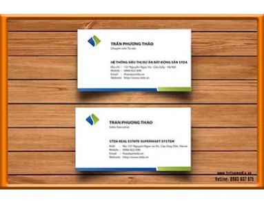In Name Card cho tập đoàn CEN GROUP